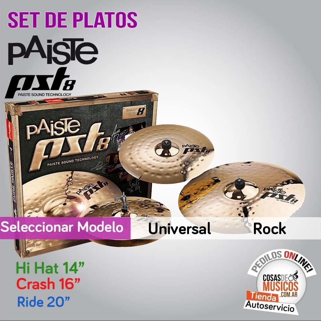 Set De Platos PST8 Precio x Modelo