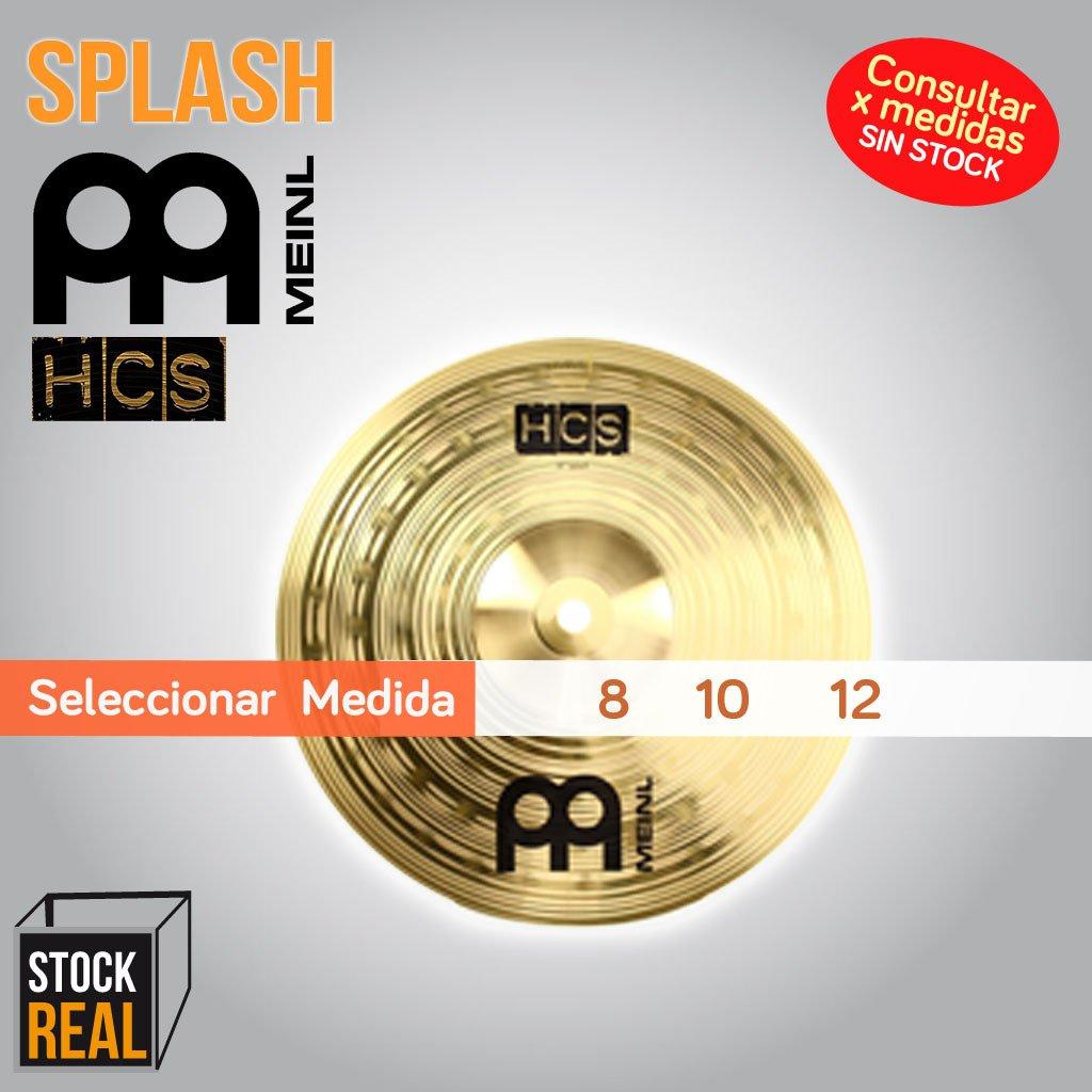 Splash MEINL HCS x Medida