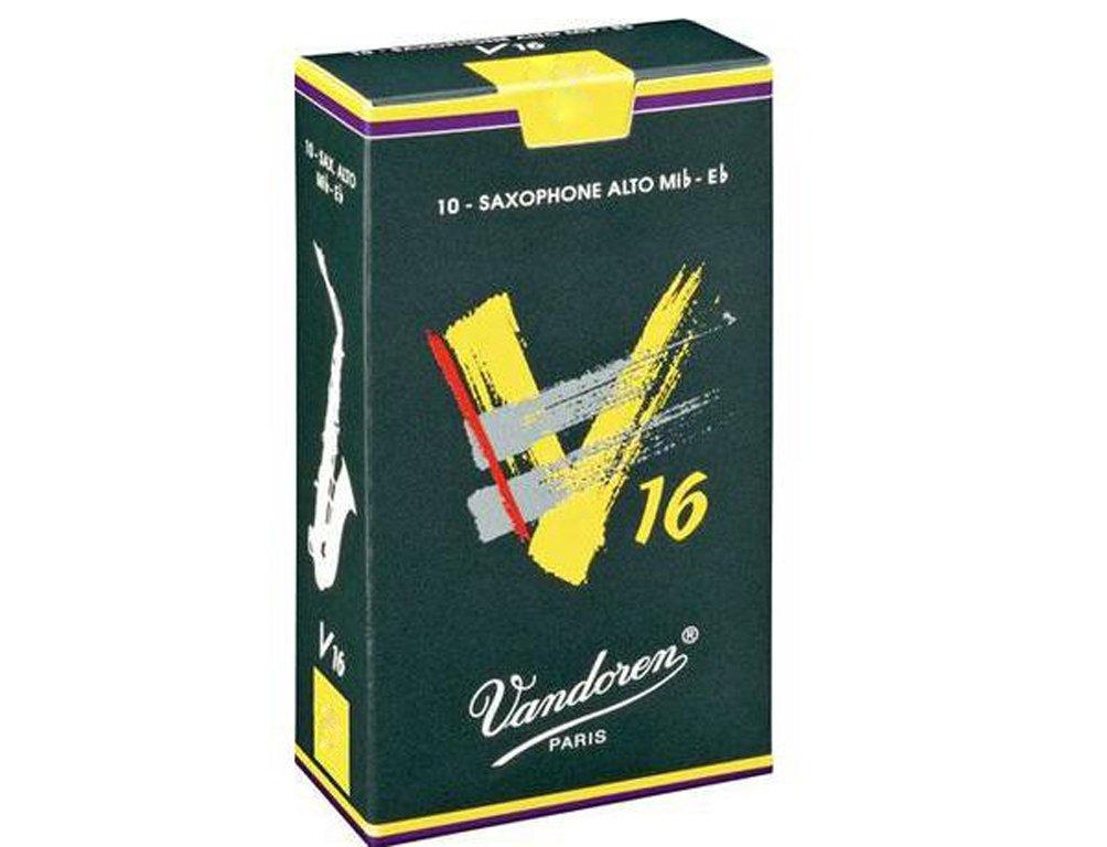 Cañas Saxo Alto V16 Nº2.5 Vandoren pack 10u.