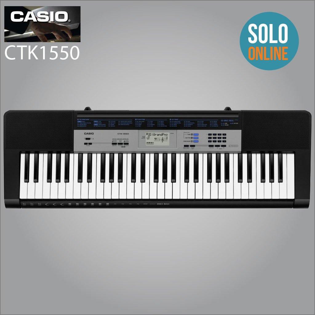 Teclado Casio CTK1550