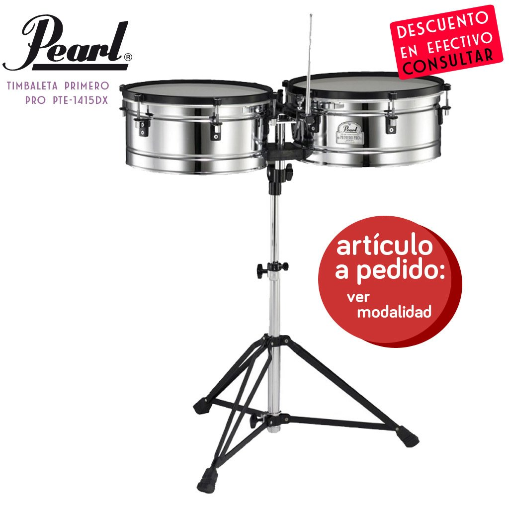 Timbal Pearl Primero PRO PTE-1415DX