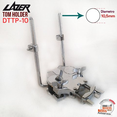 Tom Holder Doble con clamp Lazer DTTP-10