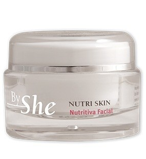 BY SHE NUTRI SKIN CREMA FACIAL X 50G