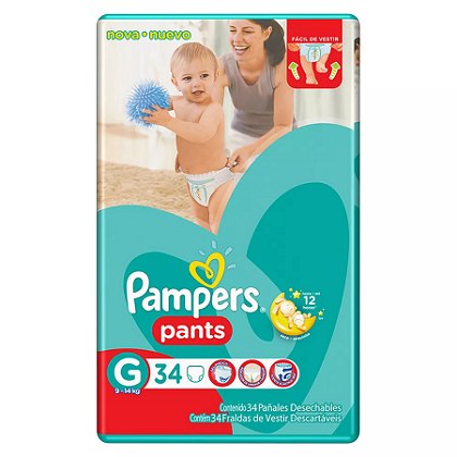 PAMPERS PANTS GRANDE