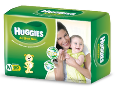 HUGGIES ACTIVE SEC MEDIANO
