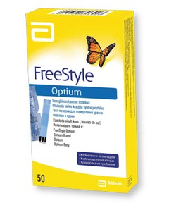OPTIUM FREESTYLE TIRAS REACTIVAS