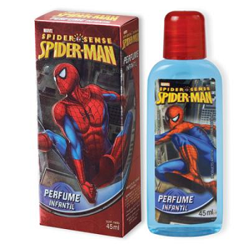 SPIDERMAN PERFUME CAJA METALIZADA X 45 ML