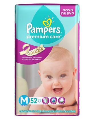 PAMPERS PREMIUM CARE MEDIANO