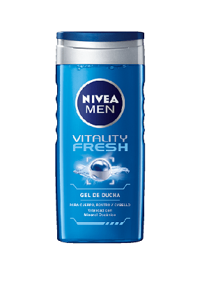 NIVEA MEN GEL DE DUCHA VITALITY FRESH 250 ML