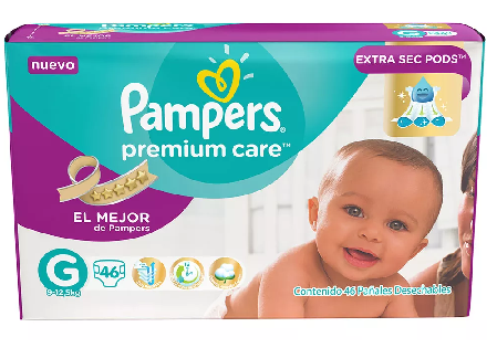PAMPERS PREMIUM CARE GRANDE