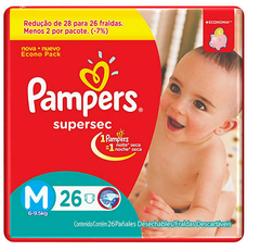 PAMPERS SUPERSEC MEDIANO
