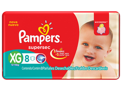 PAMPERS SUPERSEC EXTRA GRANDE