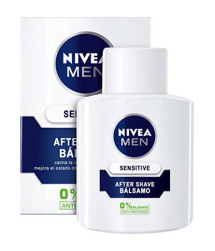 NIVEA FOR MEN BALSAMO AFTER SHAVE SENSITIVE 100 ML