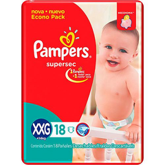 PAMPERS SUPERSEC EXTRA EXTRA GRANDE