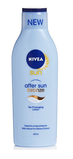 NIVEA SUN AFTER SUN BRONZE  X 200 ML