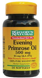 NATURAL LIFE EVENING PRIMROSE OIL X 50 CAPSULAS
