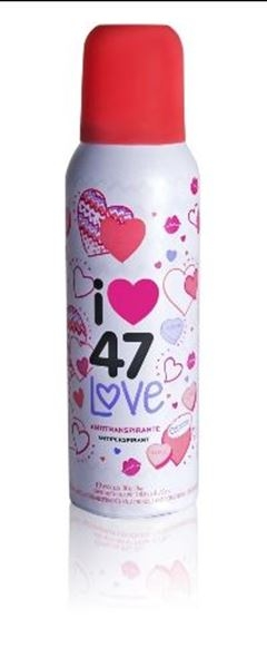 47 STREET LOVE 140 ML DESODORANTE