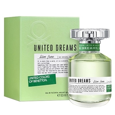 BENETTON UNITED DREAMS LIVE FREE EDT