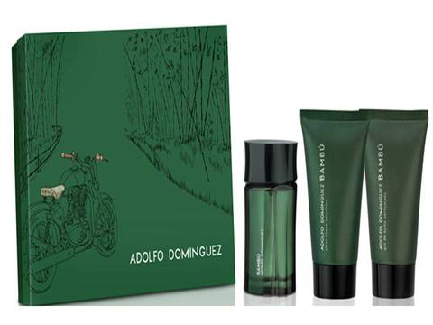 ADOLFO DOMINGUEZ BAMBU EDT ESTUCHE FRAGANCIA + AFTER + GEL