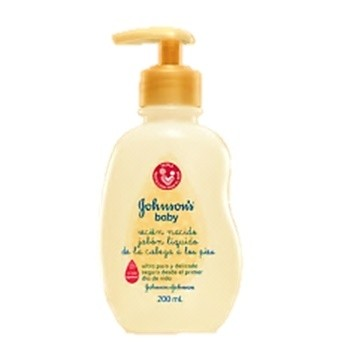 JOHNSON BABY RECIEN NACIDO LIQUIDO BANO 200ML