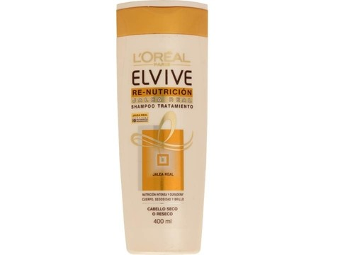 ELVIVE RE-NUTRICION JALEA REAL 400 ML SHAMPOO