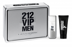CAROLINA HERRERA 212 VIP MEN SET FRAGANCIA + SHOWER GEL