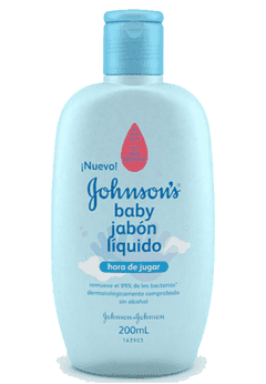 JOHNSON BABY JABON LIQUIDO ANTIBACTERIAL 200 ML