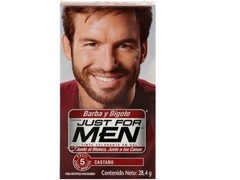JUST FOR MEN BARBA BIGOTE Y PATILLAS CASTANO
