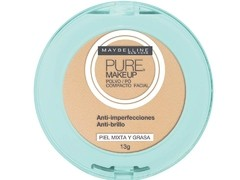 MAYBELLINE PURE MAKE UP POLVO