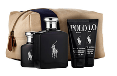 RALPH LAUREN POLO BLACK SET FRAGANCIAS + AFTER SHAVE + SHOWER GEL