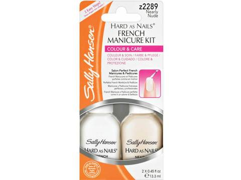 SALLY HANSEN TRATAMIENTO FRENCH MANICURE KIT
