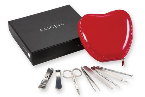 FASCINO SET DE MANICURIA - ESTUCHE CORAZON
