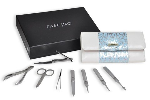 FASCINO SET MANICURIA x8 - ESTUCHE NATURAL