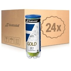 Caja x24 Babolat Gold All Court x3