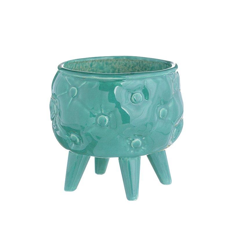 maceta cermica diseo exclusivo regalos originales decoracin de jardn maceta varios colores esmaltada