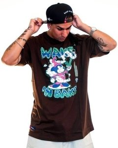 Remera Regular Fit Wake & Bake