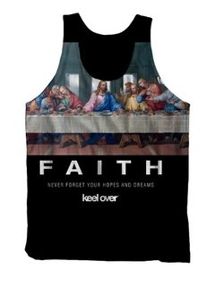 Remera Musculosa Keel Over Sublimada Faith