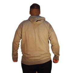 Buzo Hombre Hoodie Canguro Keel Over Spring Gris - comprar online