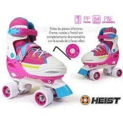 Patin Artistico Extensible 4 Ruedas Heist 22w Simil Soy Luna - Keel Over