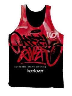 Remera Musculosa Hombre  Keel Over Sublimada Roses