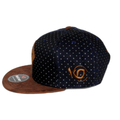 Gorra Snapback Brown Suede en internet