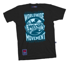 Remera Hombre Manga Corta Keel Over Worldwide en internet