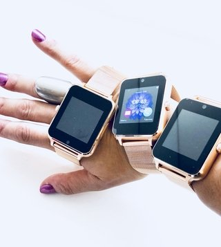 Smartwatch universal metallic