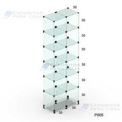 Prateleira de vidro modulado - 60cm - P0...