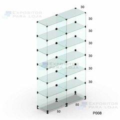 Prateleira de vidro modulado - 100cm - P...