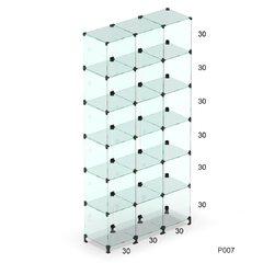 Prateleira de vidro modulado - P007