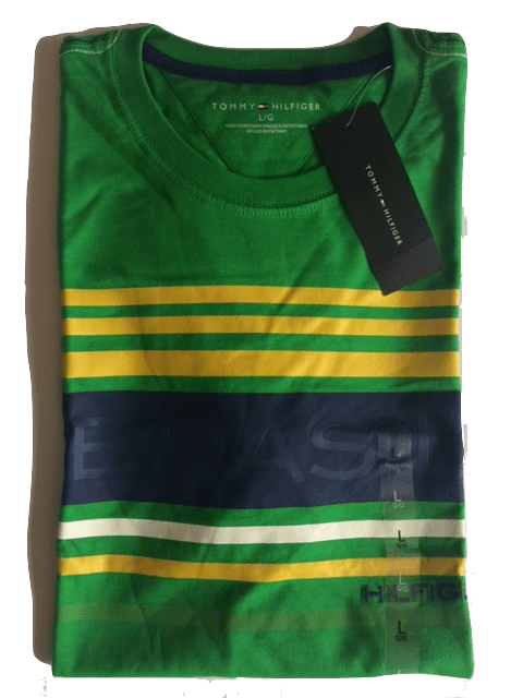 Camiseta Tommy Hilfiger Graphic Masculina Verde