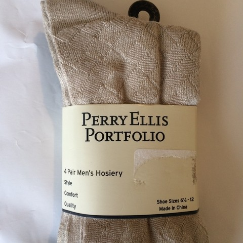 KIT MEIA PERRY ELLIS