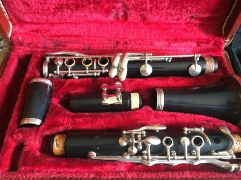 Clarinete Artley Made in USA.