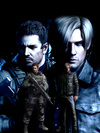 Camiseta Chris Redfield e Leon Kennedy - Resident Evil na internet